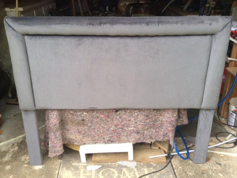 bespoke headboard upholstery