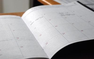 agenda diary