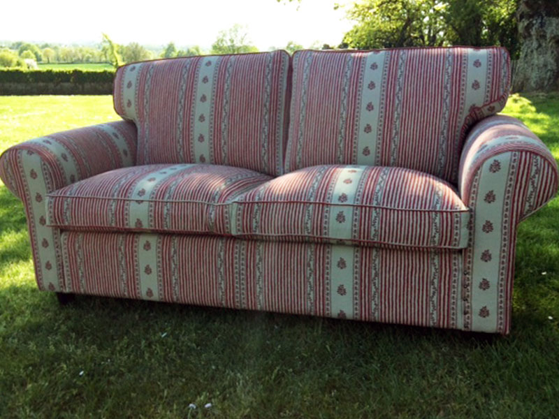 recover old sofa